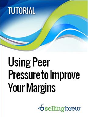 tutorial_using peer pressure to improve your margins