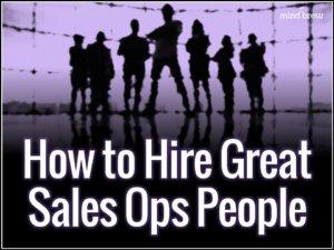 Hiring Great Sales Ops People Webinar Splash